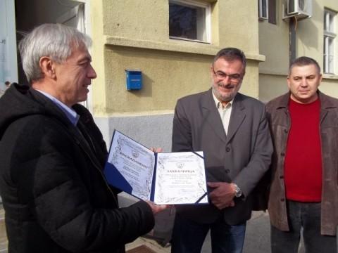 Алберто ди Лука и надбискуп Хочевар посетили Здравствени центар у Алексинцу