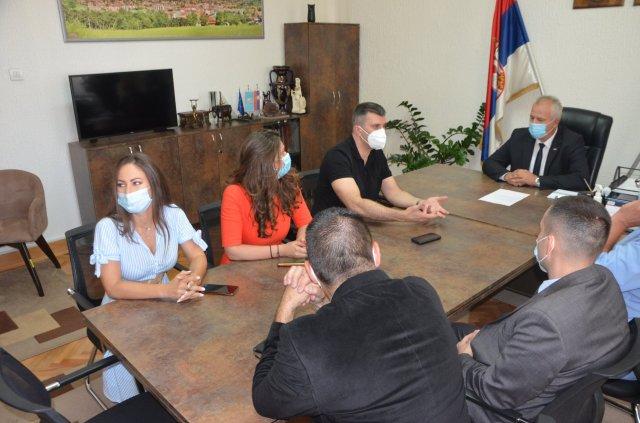 Ministar Zoran Đorđević posetio Aleksinac