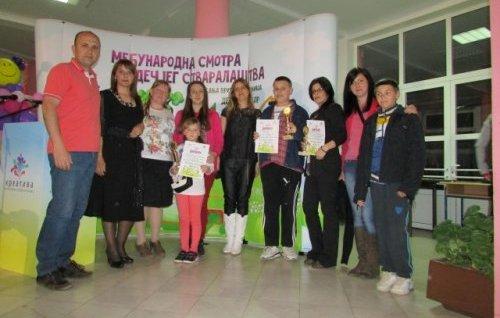 Алексиначке школе најуспешније на Међународном фестивалу у Мионици