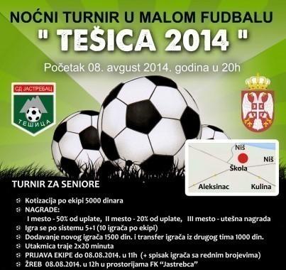 Tradicionalni turnir u malom fudbalu u Tešici