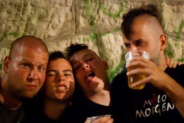 """Slovenački pankeri """"Gužva u bajtu"""" gostuju u kafeu Presing"""