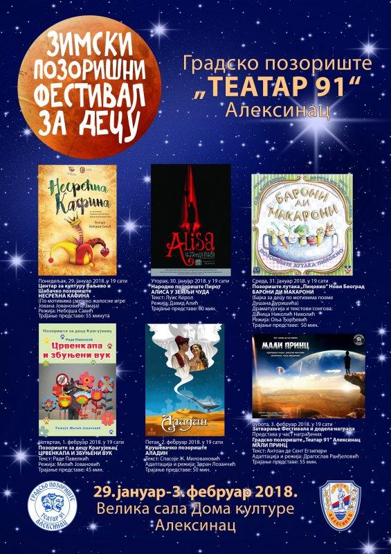 Zimski pozorišni festival za decu