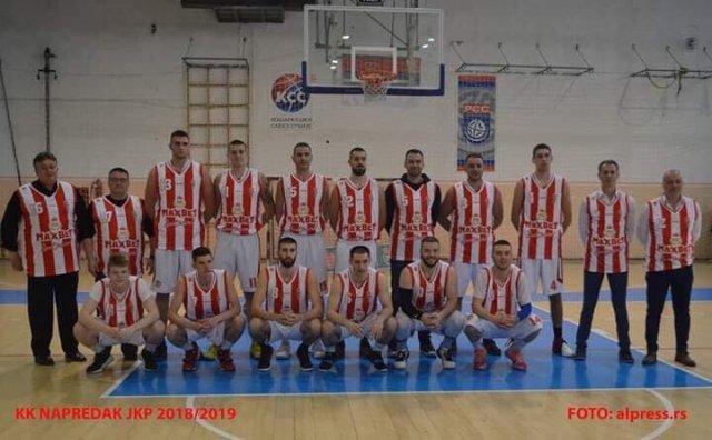КК Напредак ушао у историју екипног спорта у Алексинцу