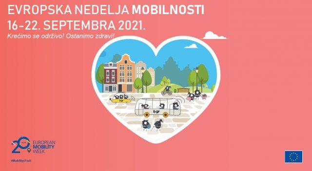 Povodom obeležavanja Evropske nedelje urbane mobilnosti likovni konkurs za decu svih uzrasta