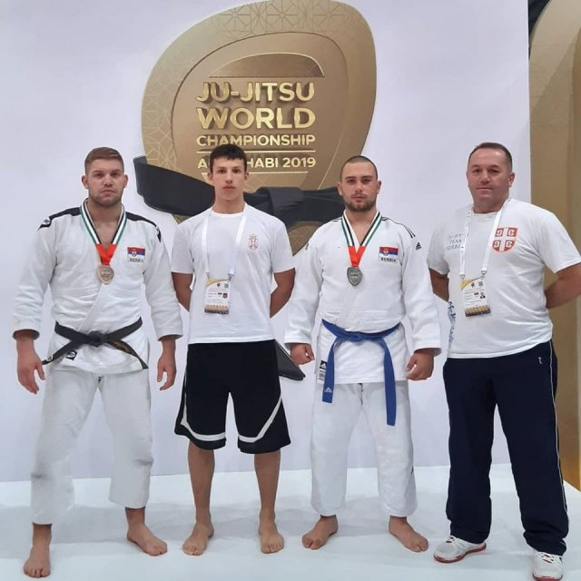 Srbija dobila vicešampiona u džiu džicu