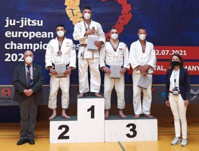 Бронзана медаља са Европског првенства за сениоре у џиу џицу