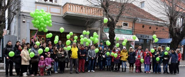 U Aleksincu obeležen dan dece obolele od raka