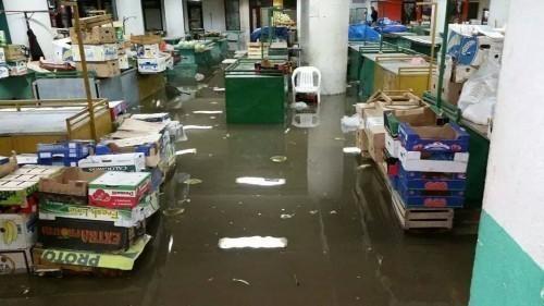 Опасност- Поплављена пијаца у Алексинцу