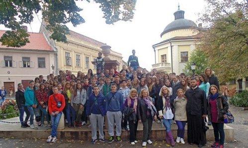 Pokloničko putovanje učenika Aleksinačke Gimnazije u Sremske Karlovce