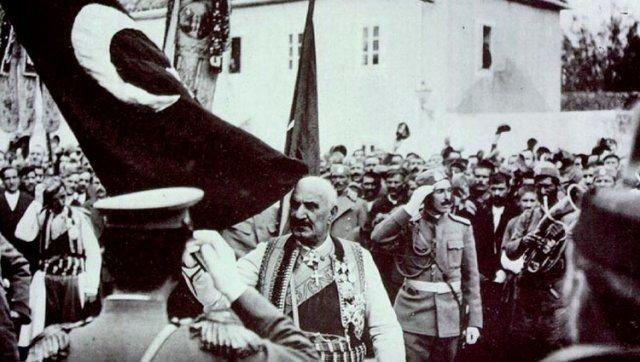 Предаја турске заставе Краљу Николи у Скадру