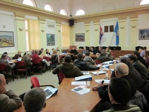 Sastanak privrednika sa predsednikom opštine