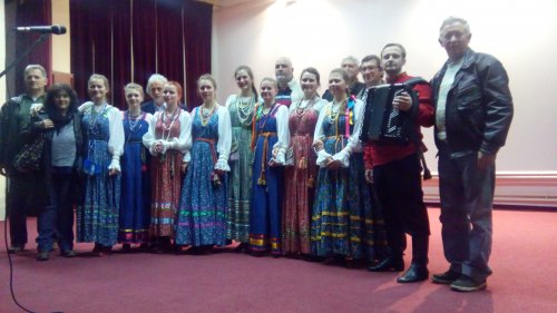 Ruski folklorni ansambl posetio Aleksinac i Kruševac