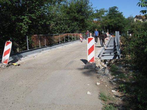 Санација моста и коловоза на реци Турији у Тешици