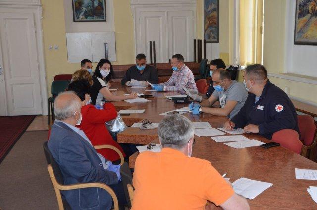 Одржана седница Штаба за ванредне ситуације за територију општине Алексинац