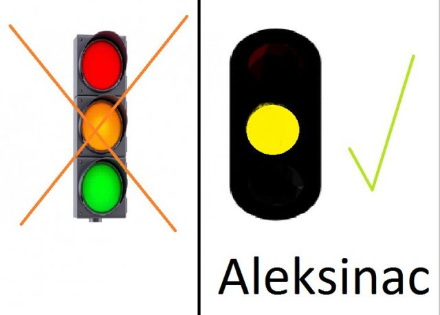 Semafor u Aleksincu ne radi - ZAŠTO?