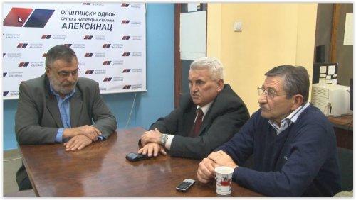 Др Зоран Алексић и чланови Покрета за општину Алексинац приступили Српској напредној странци