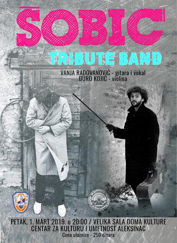 U Domu kulture koncert Šobić tribjut benda