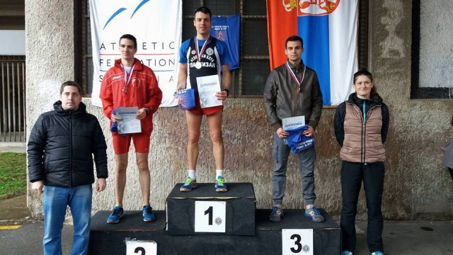 Medalja za Zekovića na Prvenstvu Srbije u hodanju