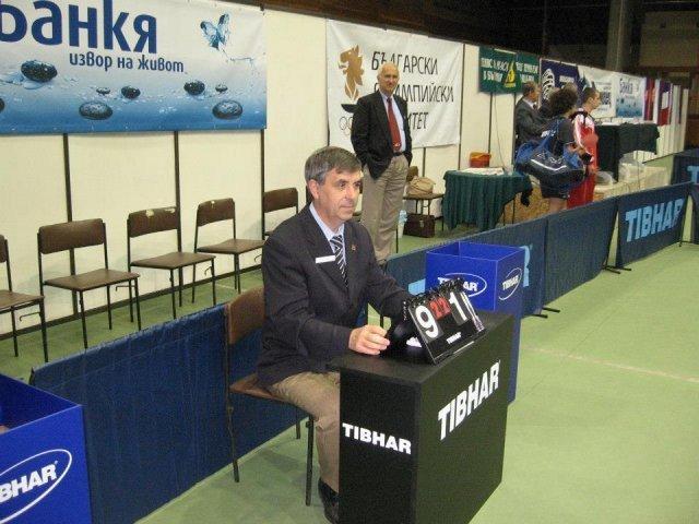 "Jovan Živić sudi na turniru ""Pro-TUR"" Bugarske"