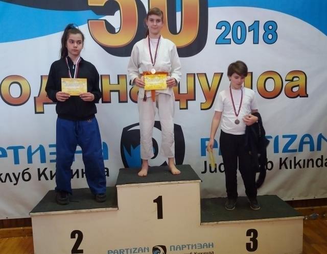 Danijela Joić dvostruka Prvakinja Srbije, u džiu džicu i u džudou