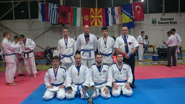 Велики успех на међународном џиу џицу турниру у Скопљу
