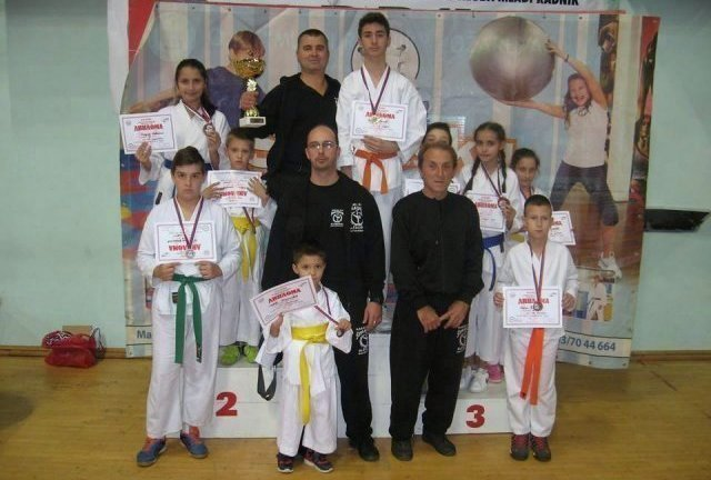 Iz Požarevca deset medalja za KK Šumatovac