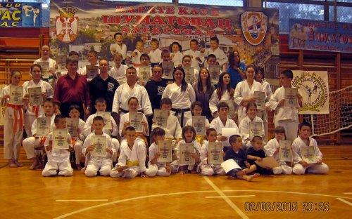 Početak jesenje sezone za karate klub Šumatovac