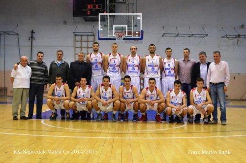 Napredak KK 2014/2015 Foto Marko Radić