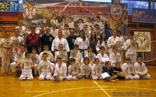 """Četvrt veka postojanja karate kluba """"Šumatovac"""""""