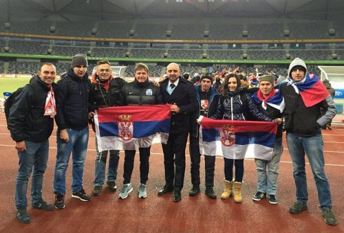 Aleksinčanin Milan Đorđević kao podrška fudbalerima Radničkog na turneji u Kini