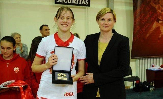 Zvezda osvojila titulu, Mina Đorđević MVP finalne serije prvenstva Srbije