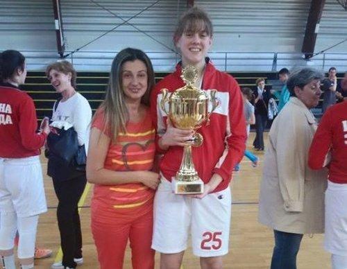 Наша Мина МВП кадетске лиге за кошаркашице
