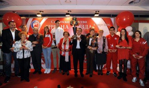 Mina Đorđević na podijumu najboljih u SD Crvena Zvezda