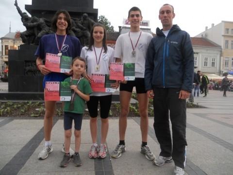 Uspeh aleksinačkih atletičara na niškom polumaratonu