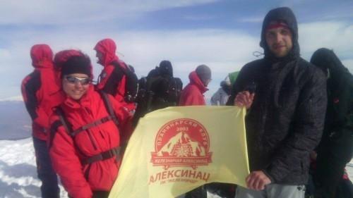 """PK """"Železničar"""": Trem na Suvoj Planini"""