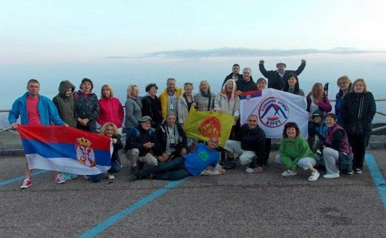 ПК Железничар: Планинарење у Јужној Италији