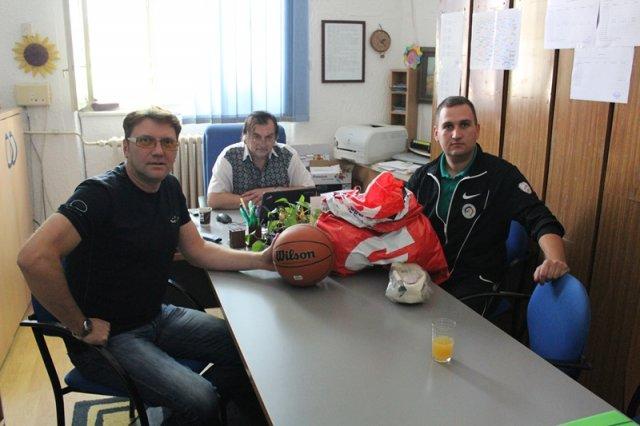 Podrška sportskim sekcijama škola u opštini Aleksinac