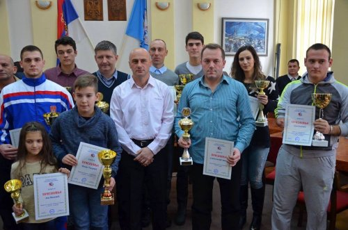 Одржана свечана додела признања спортистима за 2015. годину