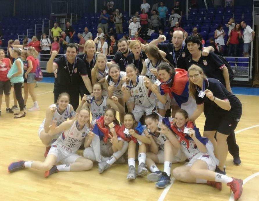 Сребро за Мину: Јуниорке Србије освојиле друго место на Европском првенству