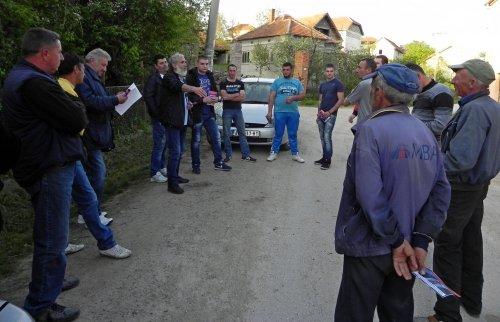 Локално руководство СРС посетило Љуптен и Кулину
