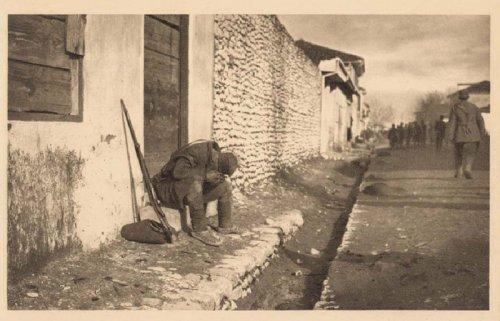 У изгнанству, 1915, Самсон Чернов