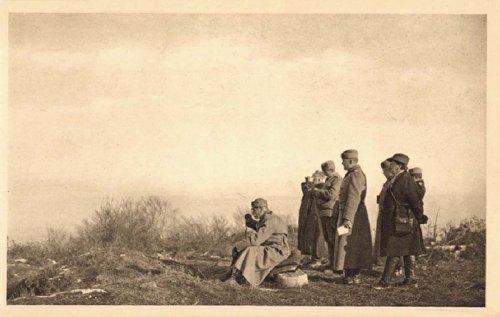 Краљ Петар на бојишту, код Даросаве, 1914, Самсон Чернов