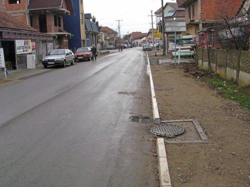 Тешица: Изграђена канализација за кишницу