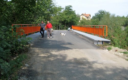 Završeni radovi na obnovi mosta na reci Turiji u Tešici