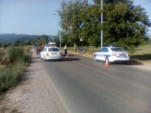 Удес на путу Алексинац - Житковац