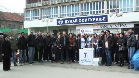 Masovna podrška URS-u u Aleksincu