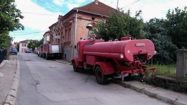 Добровољци се прикључили гашењу пожара у Црној Бари