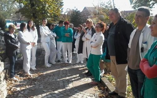 Štrajk u Opštoj bolnici