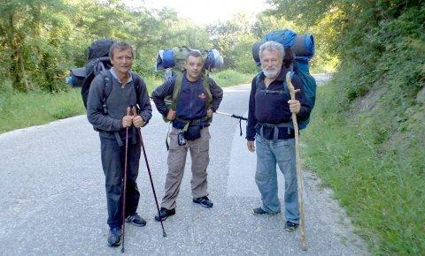 Krenuli da obiđu Sveti grob: Zoran Mladenović, Nikola Georgijev i Zoran Jevtić