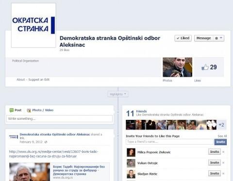 Демократска странка месецима неактивна у Алексинцу